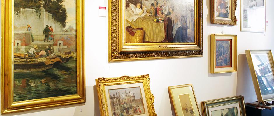 Vincenzo Lovato esposizione dipinti 800 e 900