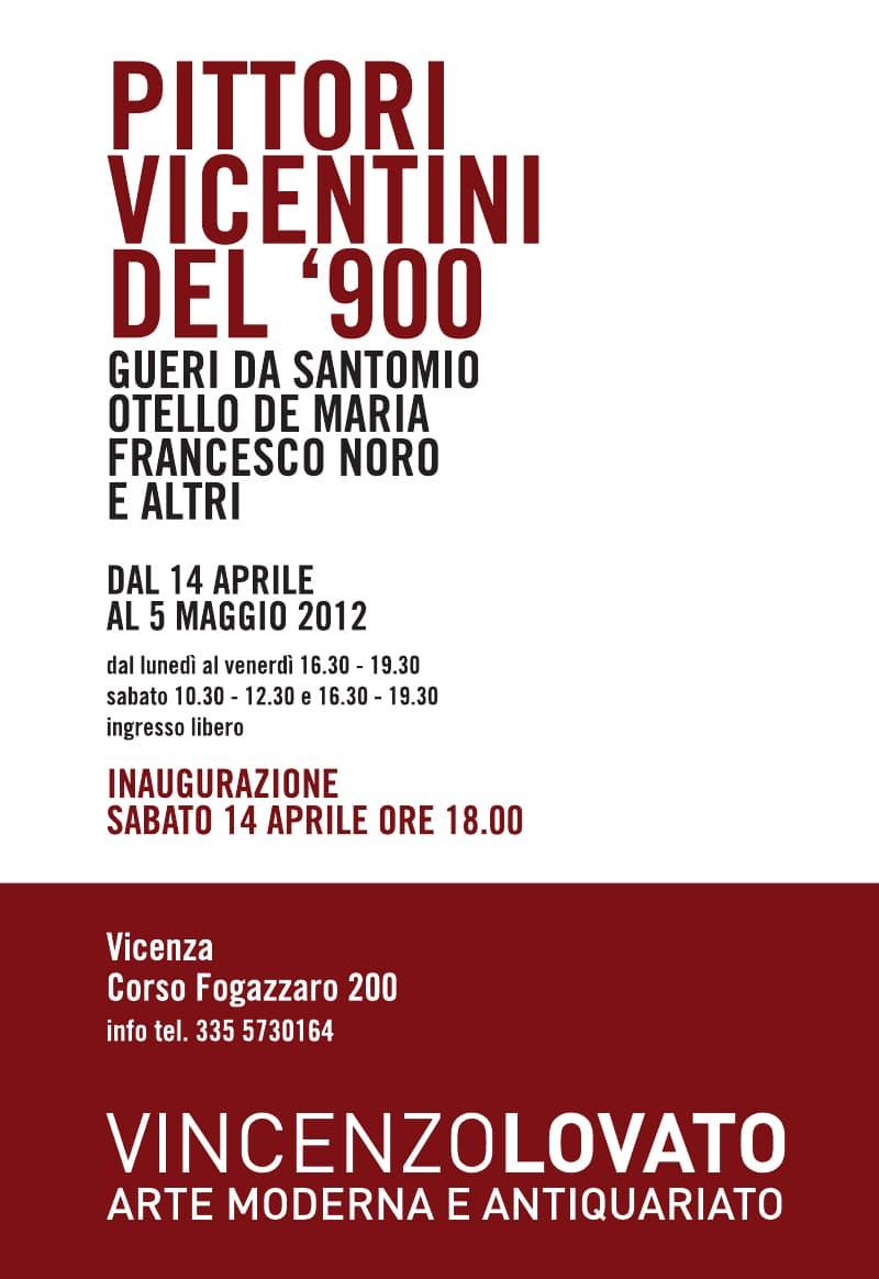 Pittori vicentini del 900 vincenzo lovato arte moderna for Vicentini arredi