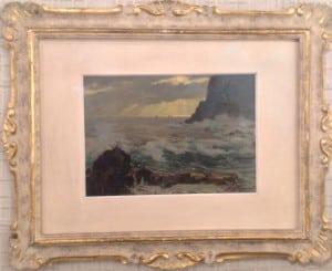 Olio su Tavoletta, cm. 26 x 19